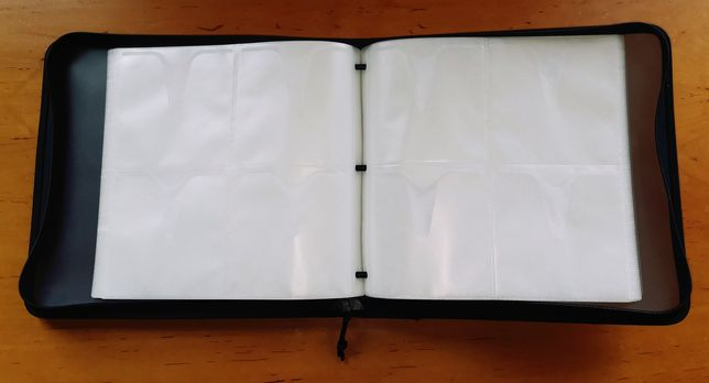 Duże etui case futerał na 120 płyt CD DVD Blue Ray walizka kufer dj