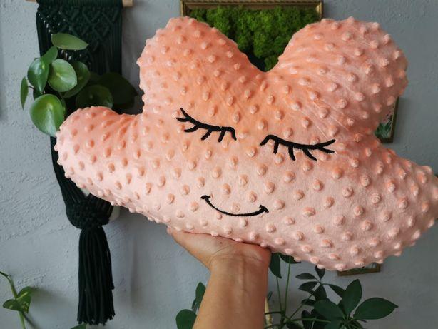 Poduszka łososiowa śpiąca chmurka Handmade by Oliminelli
