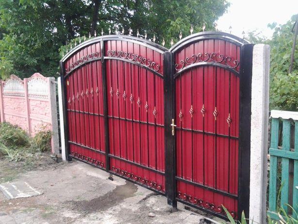 Ворота кованые (ковка) Донецк, Макеевка 57000 руб