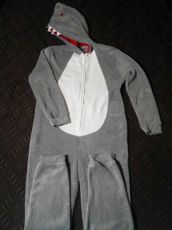 Кигуруми Акула, костюм для вечеринок, футужама, комбинезон, р.L