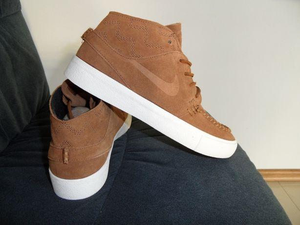 Nike - Nowe Buty Zoom Janoski Mid Rm Crafted - Skóra