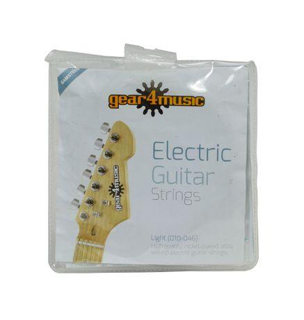 Gear4Music 10-46 struny do gitary elektrycznej