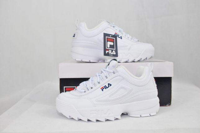 41.5 р, FILA DISRUPTOR II 2 оригинал, женские кроссовки фила белые
