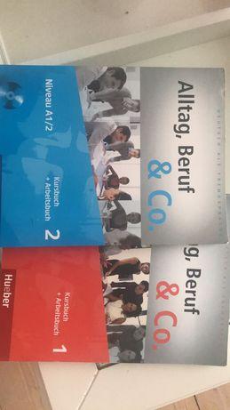 Alltag, beruf podręcznik do nauki j. niemieckiego. Cz. 1 i 2