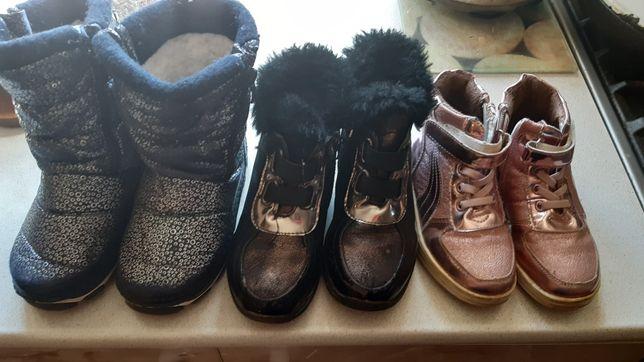 Сапожки и ботиночки девочке