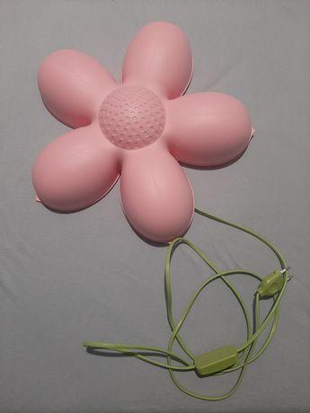 Lampka Ikea różowy kwiatek Smila Blomma