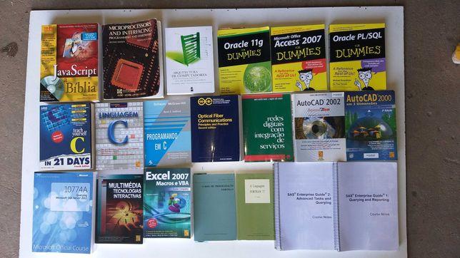 Livros de informática vários