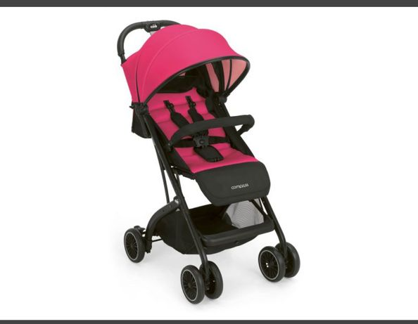 Cam Compass розовая прогулочная коляска для девочки+ подарки