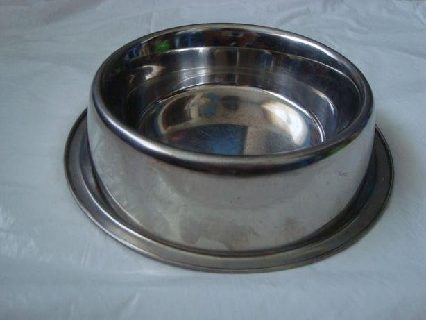 Miska stalowa dla małego psa lub kota