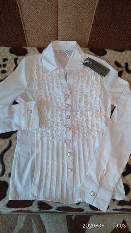 Новая Блузка для девушки до 42 размера