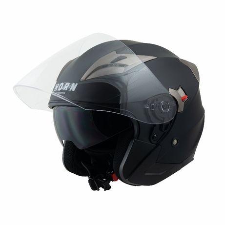 Kask motocyklowy otwarty na chopper lub skuter czarny lub biały OKAZJA