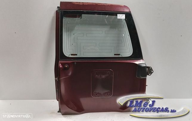Tampa da mala Dto Bordeaux Usado NISSAN/PATROL GR V Wagon (Y61)/2.8 TD | 06.97 -...