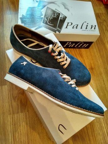 Туфли замшевые унисекс