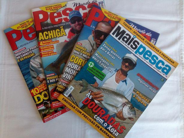 192 Revistas de Pesca (como novas)