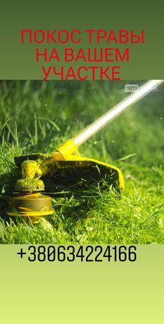 Покос травы на вашем участке пгт. Днепровское