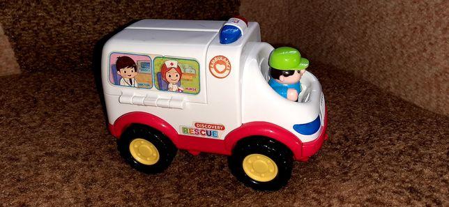 Машинка для хлопчика,швидка допомога,музична.