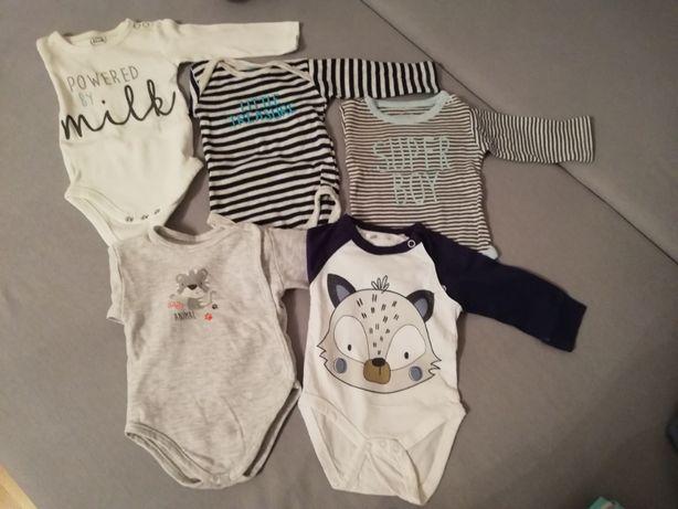 Wyprawka, ubranka dla dziecka rozm 56/62 jak nowe 68 i. Wieksze