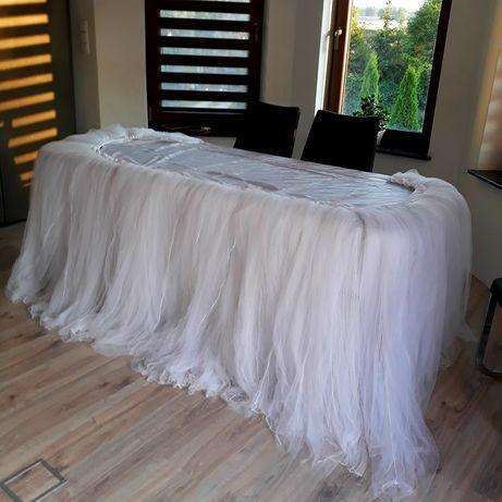 Skirt tiulowy weselny 300x120