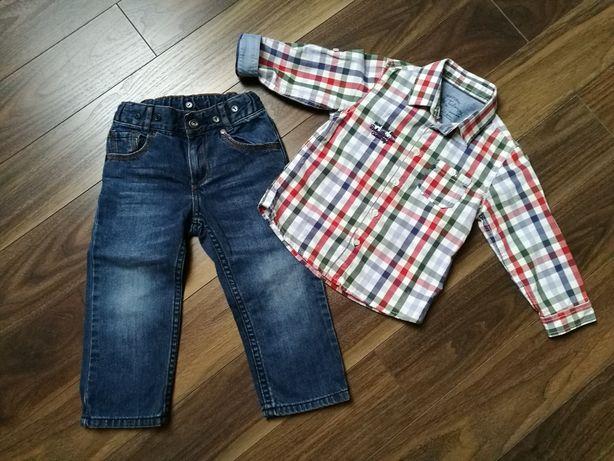 Koszula Mayoral i spodnie H&M