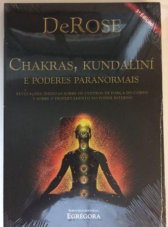 Livro Chakras e Kundaliní e poderes paranormais