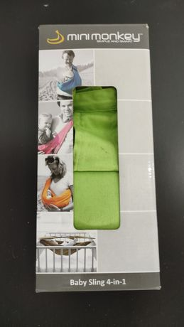 Sling / Marsúpio Minimonkey - Verde