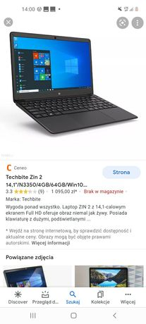 Laptop Techbite Zin 2