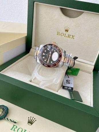 Relogio Rolex GMT 2x tones Novo