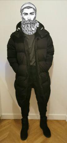 Męski płaszcz kurtka zimowa Pull&Bear- M