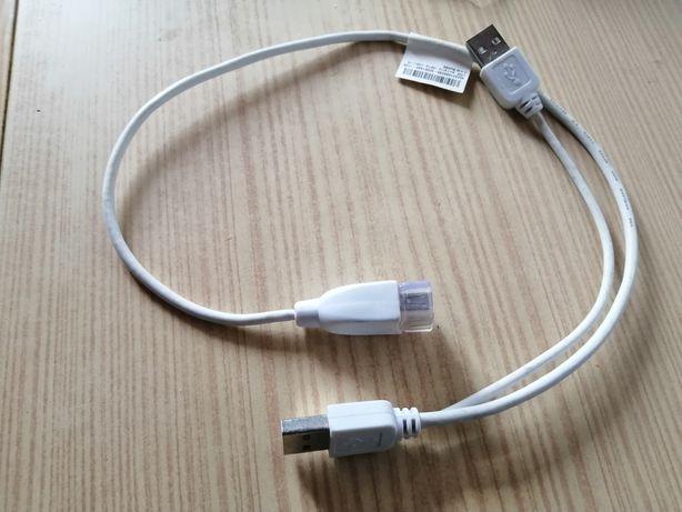 Cabo USB Macho para USB macho e fêmea