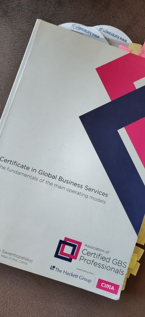 CIMA Certificate in global business services