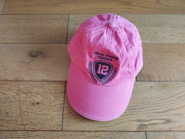 Fouganza czapka z daszkiem junior dla dziewczynki