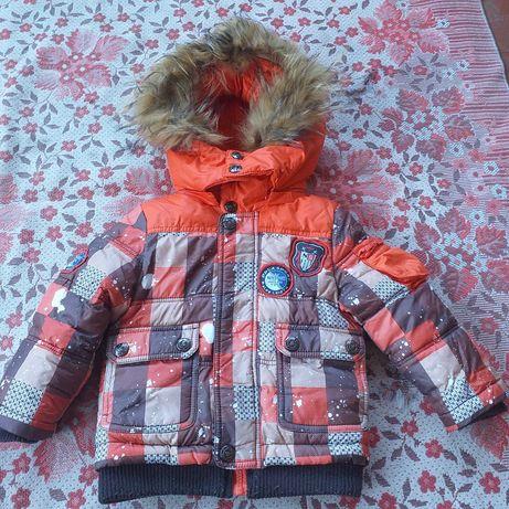 Зимняя куртка+штаны р.80