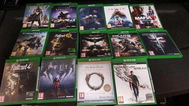 xbox one gry różne tytuły