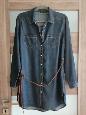 Esmara koszula oversize lyocell 40 L