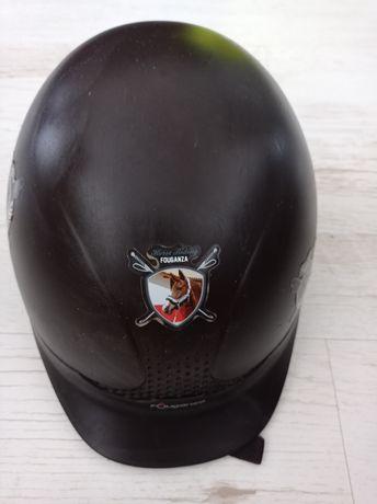 Kask jeździecki fouganza 51-53