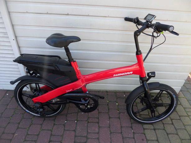 Rower elektryczny Winora Town -koła 20 - nowa bateria