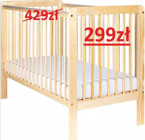 Nowe łóżeczko DREWEX Tygrys sosna