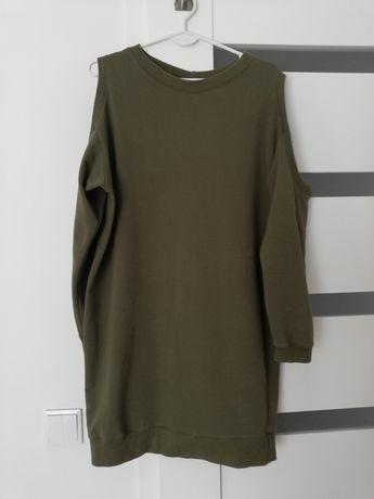 Sukienka dresowa BOCCA bluza khaki uni