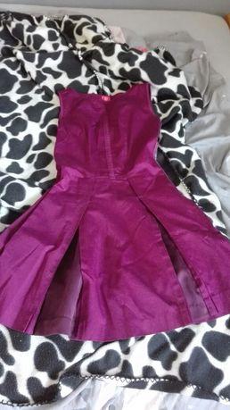 Sukienka fioletowa xxs/xs.