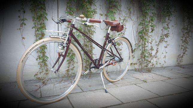 Miejski rower retro Greens Bradford vintage