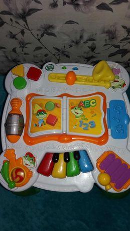 Столик игровой. Стол детский.панель игровая для детей.Leap frog.
