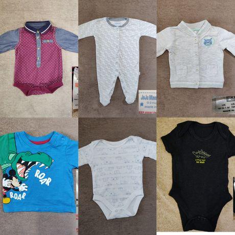Одежда для новорожденных. На мальчика 0-3мес. Боди, человечек,футболка