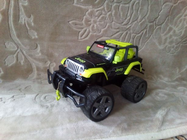 Carrera rc jeep wrangler rubicon