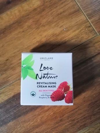 Rewitalizująca maseczka do twarzy Love Nature