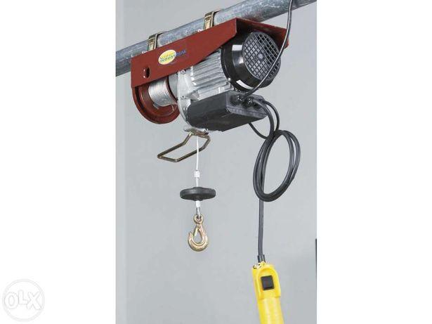Guincho elétrico para elevação de 250, 500 ou 1000 kgs