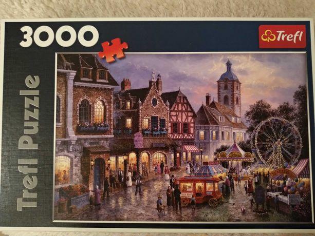 Puzzle Trefl 3000 Wesołe miasteczko
