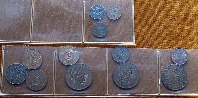 Szwecja zestaw monet 12 szt.