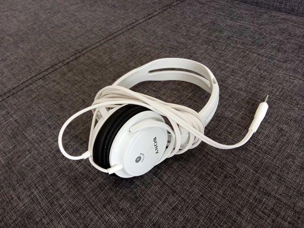 Słuchawki Sony białe, MDR-V150