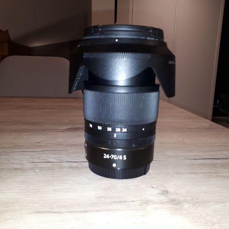 obiektyw Nikkor Z 24-70 mm f/4 S