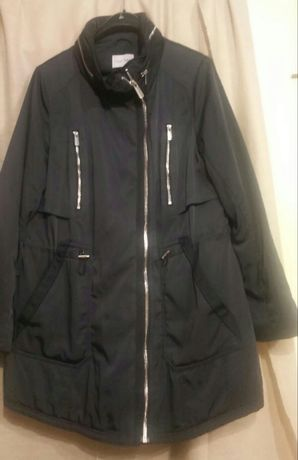 Next płaszcz,kurtka z chowanym kapturem-46(XXL)